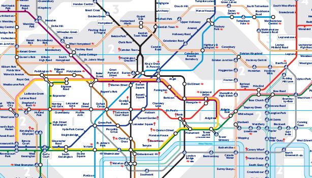 mapa metro londres 2013 тreɴ cнυ cнυ: 1890: Primera linea de metro inaugurada en Londres mapa metro londres 2013