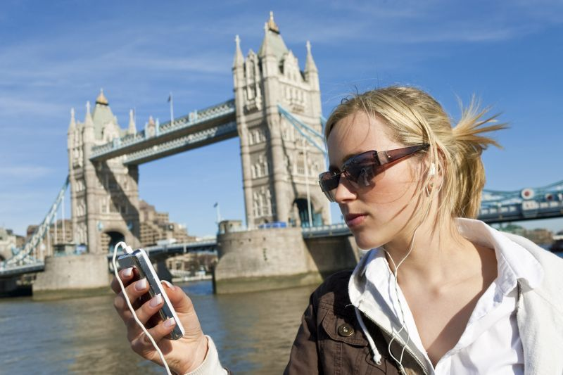 Audioguía de Londres en MP3