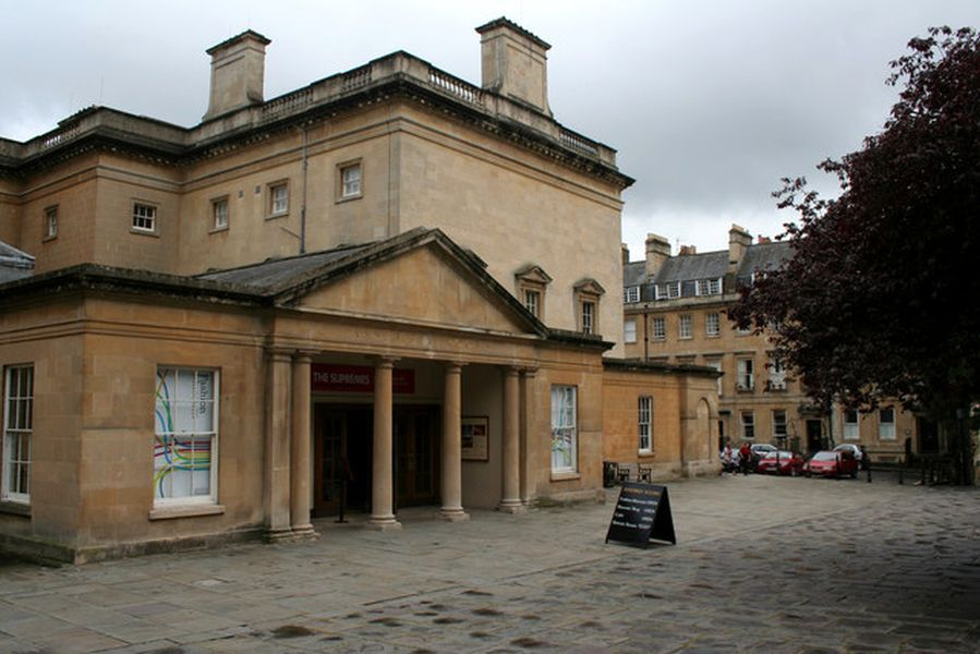 Museo de la Moda, Assembly Rooms, Bath. Autor Mark Anderson