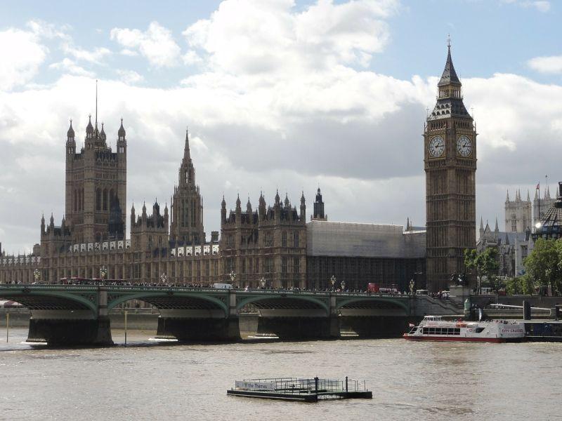 Parlamento, Palacio de Westminster