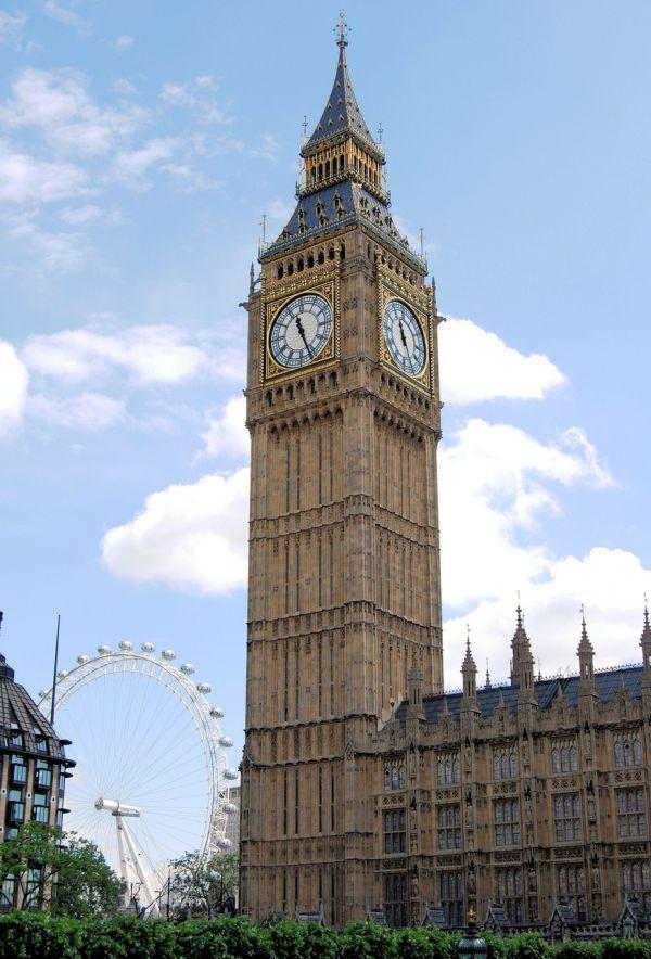 Big Ben, Torre del Reloj del Parlamento