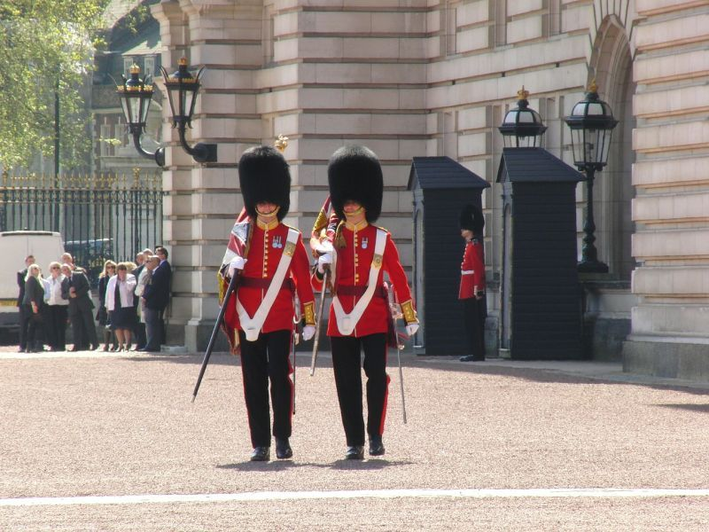 Ceremonia del Cambio de Guardia