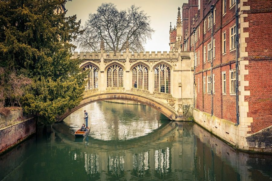 Puente de los Suspiros, Cambridge
