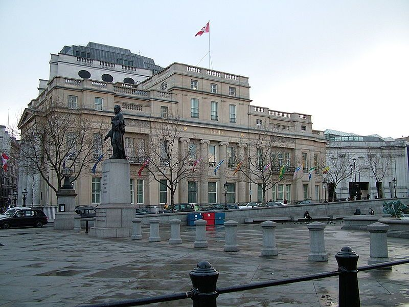 Canada House. Wikimedia Commons, autor James Forrester