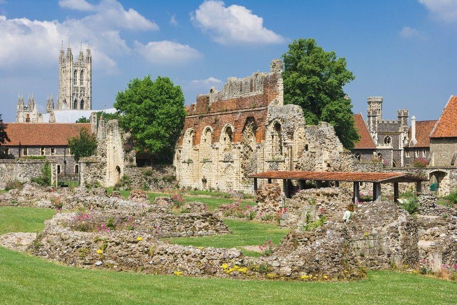 Abadía de San Agustín, Canterbury