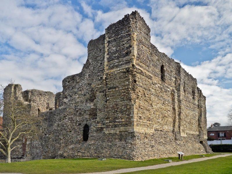Ruinas del Castillo de Canterbury
