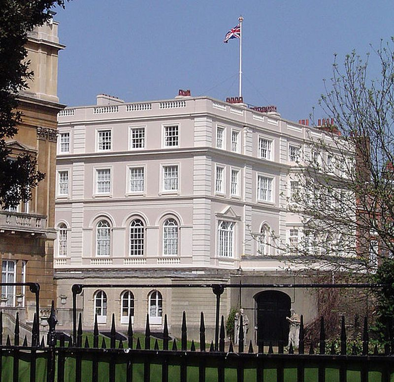 Clarence House. Wikimedia Commons, autor JaT