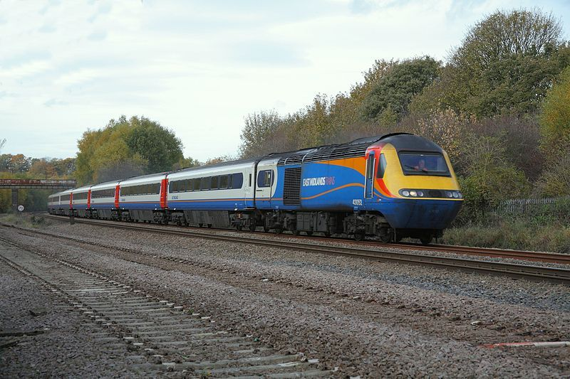 East Midlands Trains. Wikimedia Commons, auor: Phil Sangwell