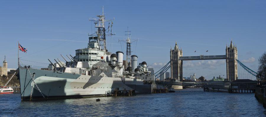 HMS Belfast © IWM Andrew Stephens