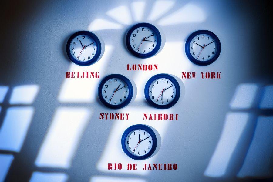 Diferencia horaria con las principales capitales mundiales
