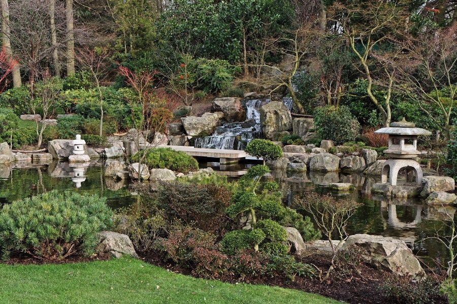 Holland Park, Japanese Kyoto Gardens