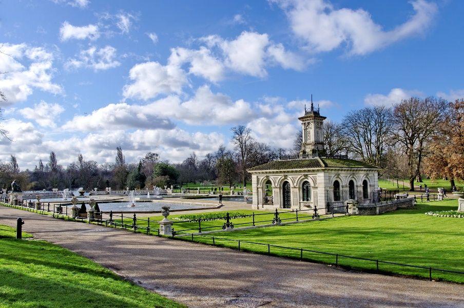 Italian Gardens en Hyde Park