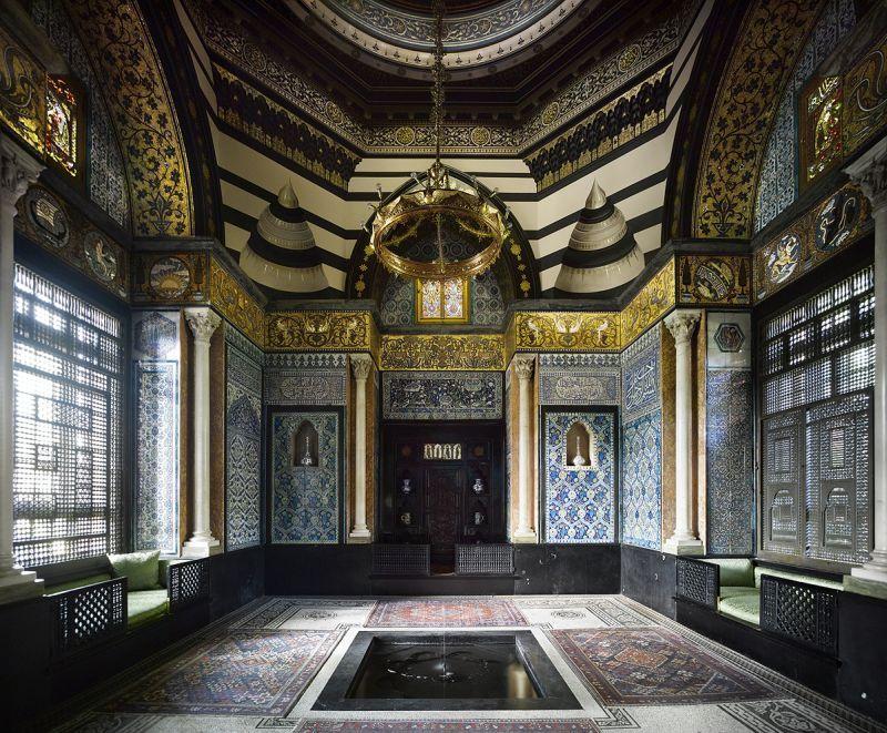 Leighton House. Salón Árabe. Autor Will Pryce