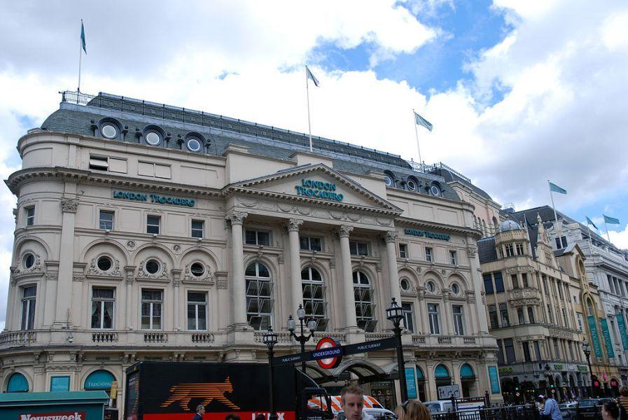 London Trocadero. Wikimedia Commons, autor Allen Watkin