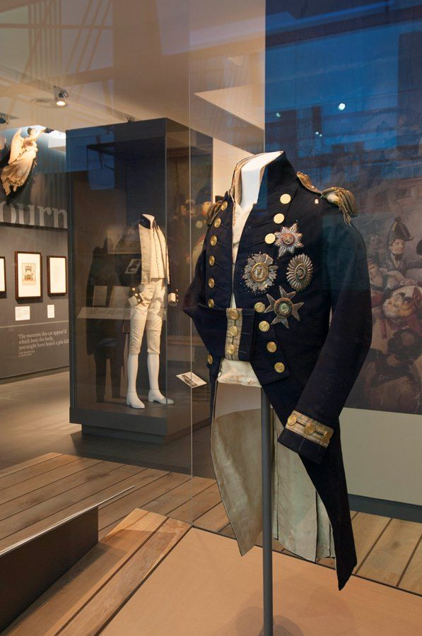 Uniforme del Almirante Nelson © National Maritime Museum, London