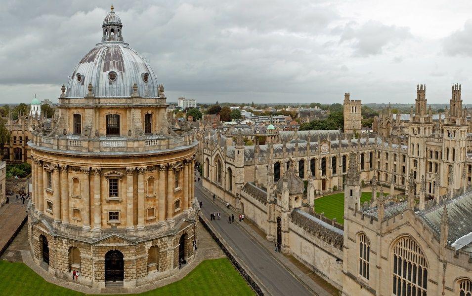 Cámara Radcliffe y All Souls College, Oxford