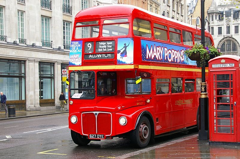 Routemaster. Wikimedia Commons, autor Jean-Marc Astesana