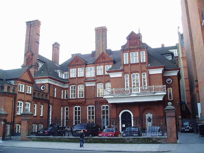 Royal Geographical Society. Wikimedia Commons, autor Steve Cadman