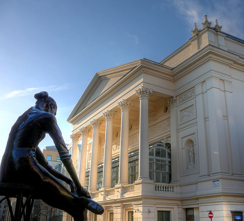 Royal Opera House. Wikimedia Commons, autor Russ London