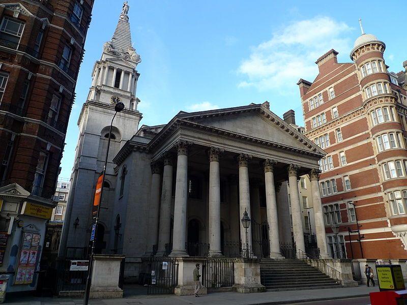 St George Bloomsbury. Wikimedia Commons, autor Mark Hogan