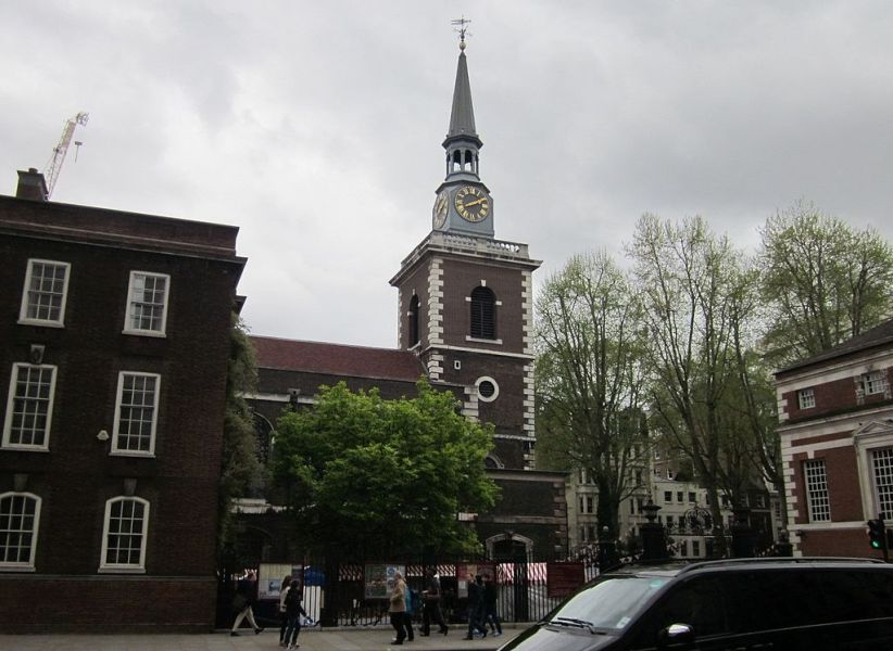 St James Piccadilly. Wikimedia Commons, autor Zeisterre