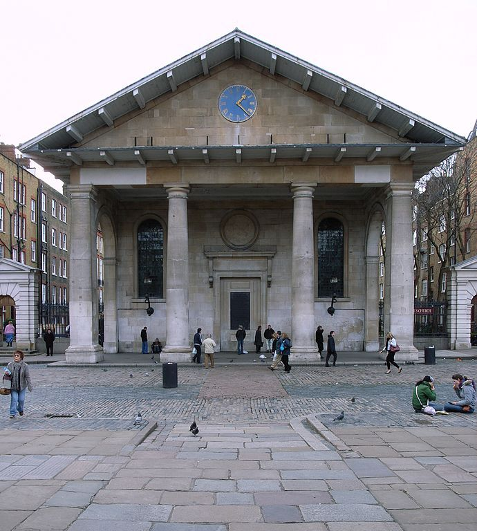St Paul's Covent Garden. Wikimedia Commons, autor Steve Cadman