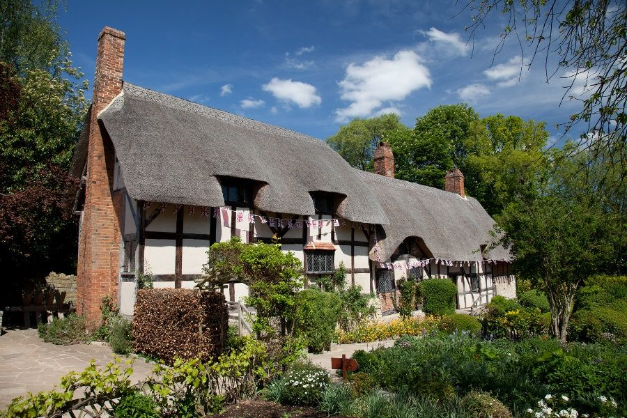 Anne Hathaway's Cottage and Gardens, Stratford upon Avon