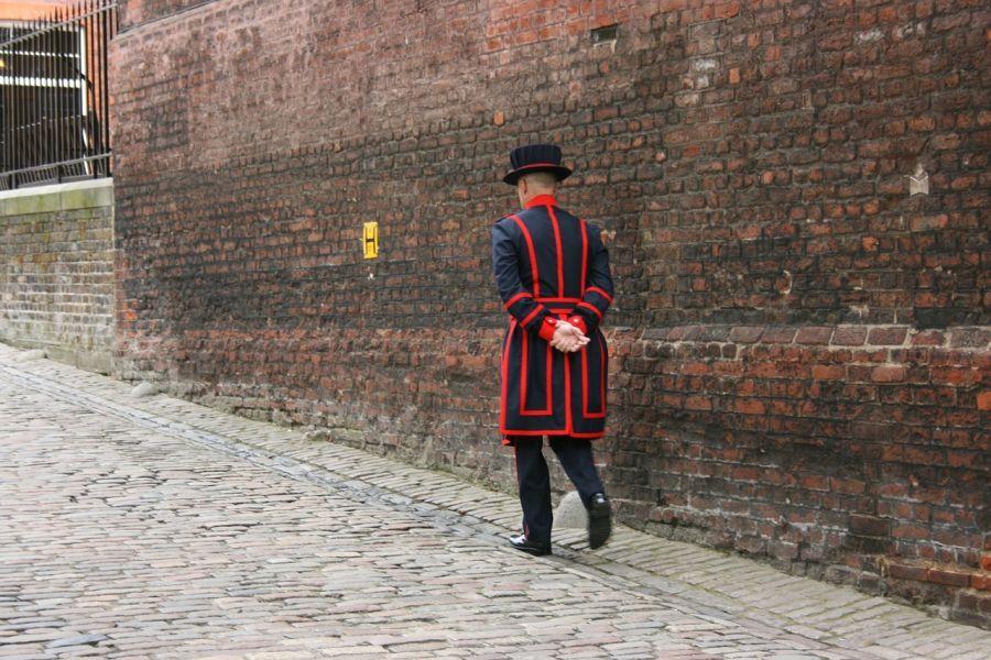 Beefeater de la Torre de Londres