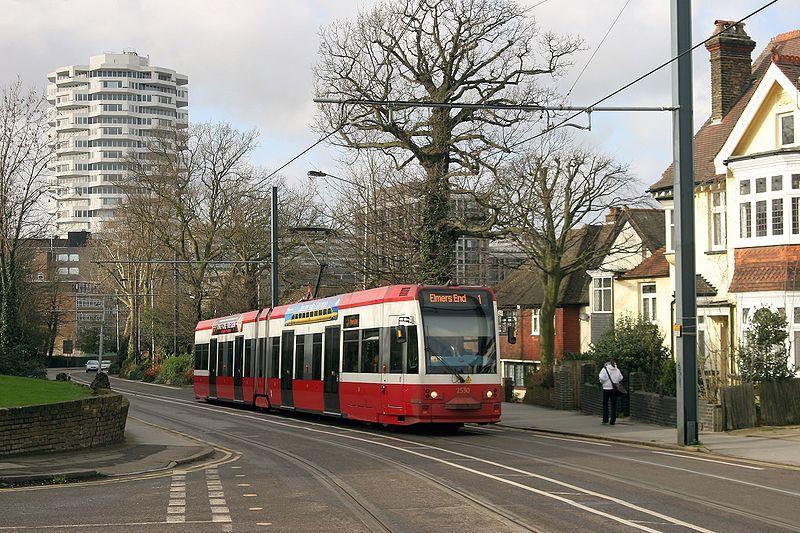 Tranvía en Londres