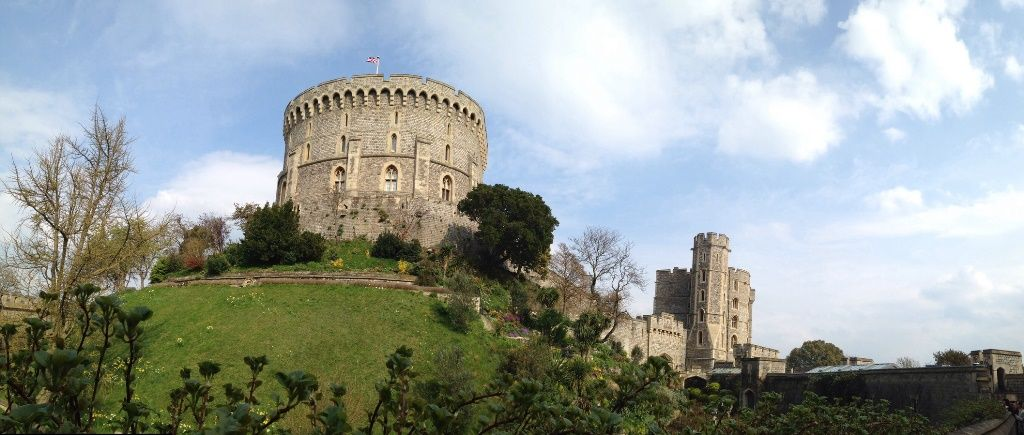 Round Tower, Castillo de Windsor