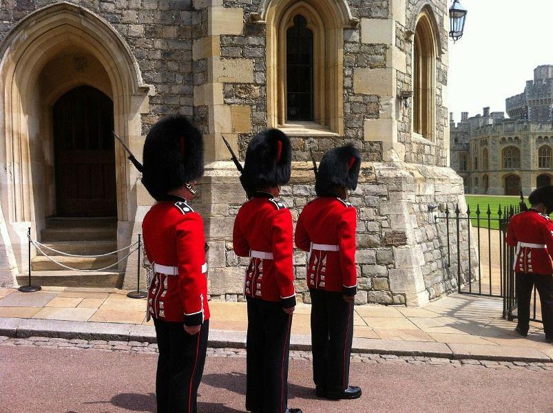 Cambio de guardia en el Castillo de Windsor