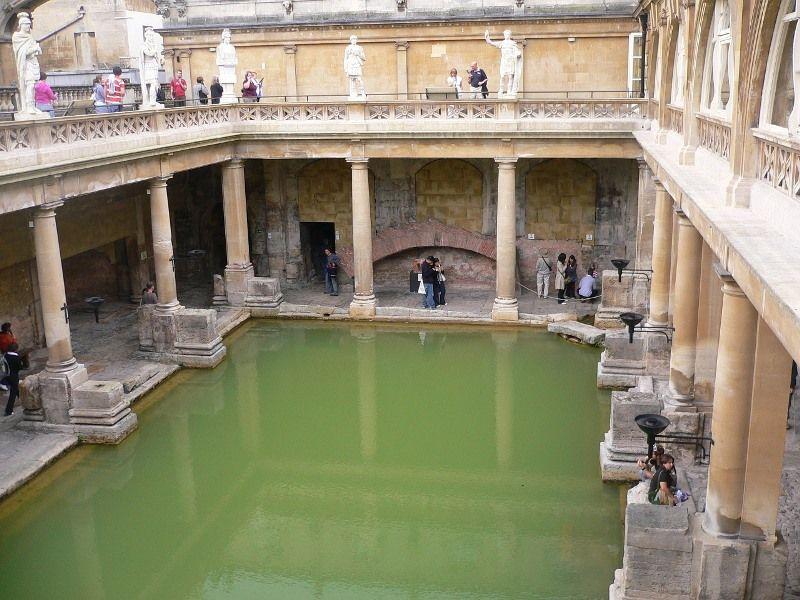 Vistas al Gran Baño, Bath