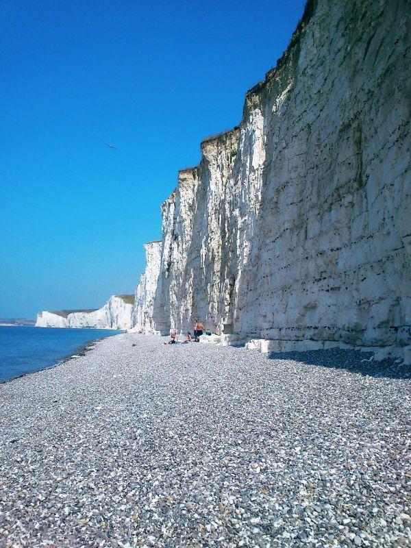 Acantilados Blancos de Beachy Head Siete Hermanas