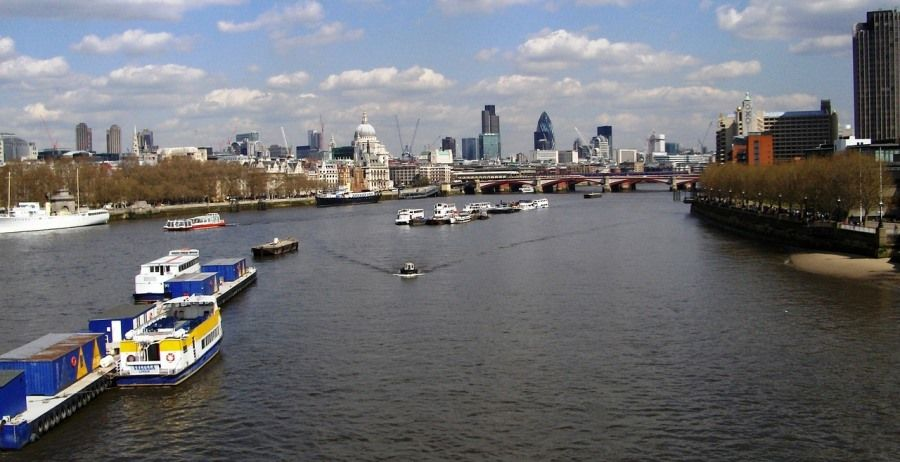 Crucero de paradas libres en Londres