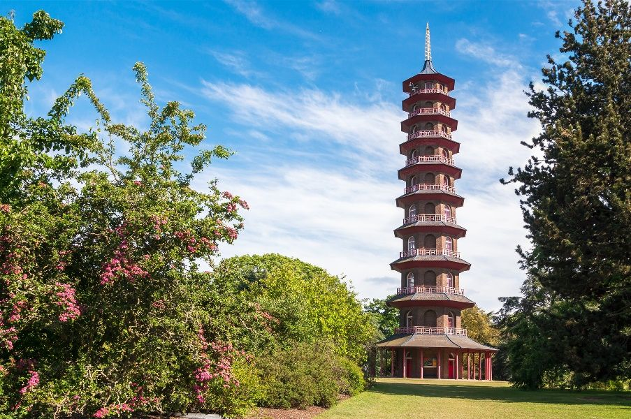 Pagoda, Kew Royal Botanic Gardens