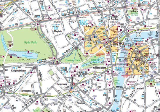 Red de autobuses urbanos de Londres