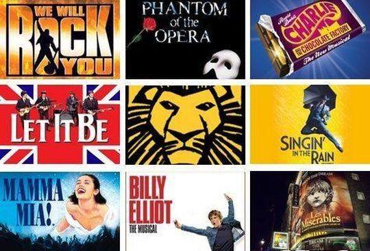 Musicales y espectáculos en Londres