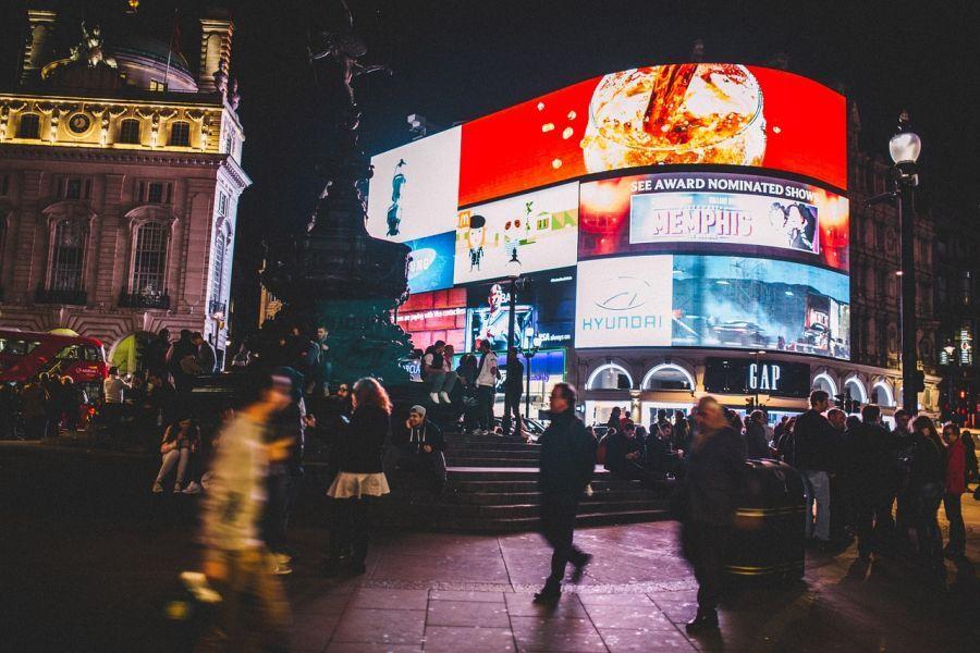 Tour nocturno a pie por Londres