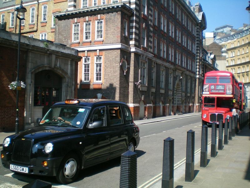 Autobús Routemaster en Londres